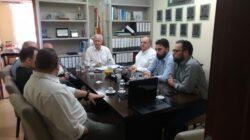 Presidente da Fecomércio SC participa da reunião da diretoria do Sindilojas